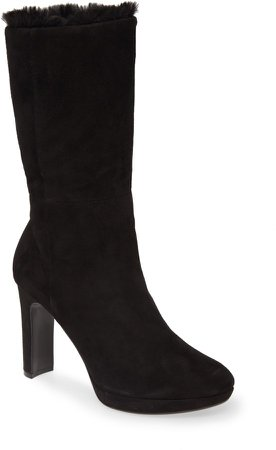 Pebbles Faux Shearling Lined Boot