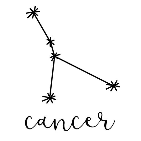 Constellation Decal Set cancer - Google Search