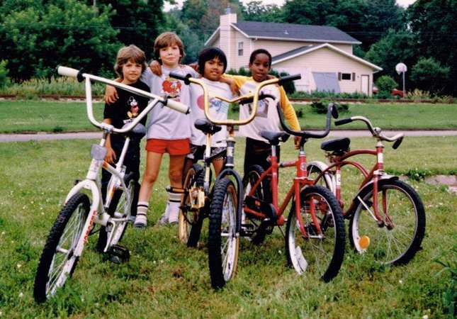 kids on bikes - Google Search