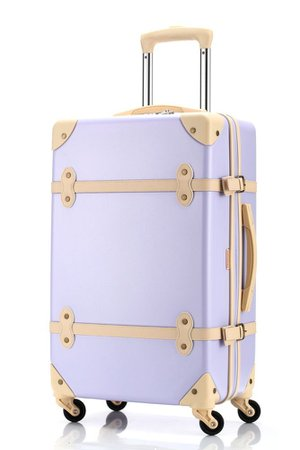 purple suitcase vintage - Google Search
