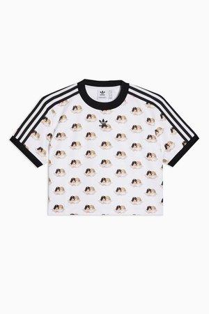 adidas x Fiorucci Angel Crop T-Shirt | Topshop