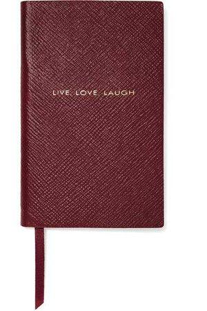 Smythson | Panama  textured-leather notebook | NET-A-PORTER.COM