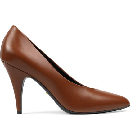 Gucci Blanca Pointed Toe Pump (Women)   Nordstrom