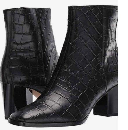 Diane von Furstenberg Black Boots #dvf