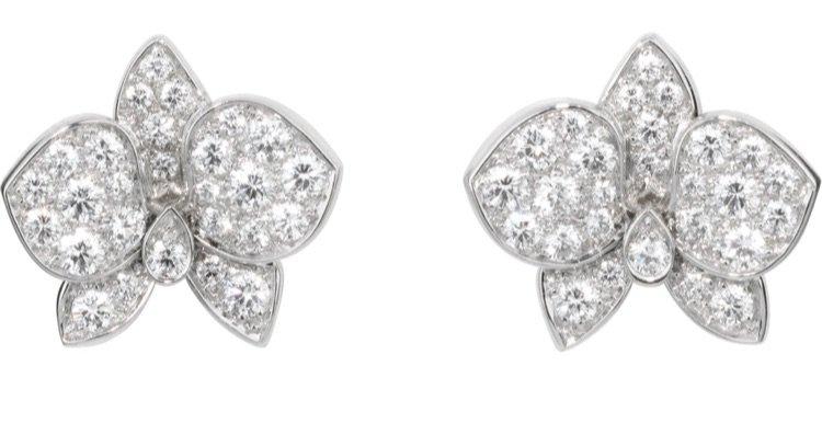 cartier earring diamond