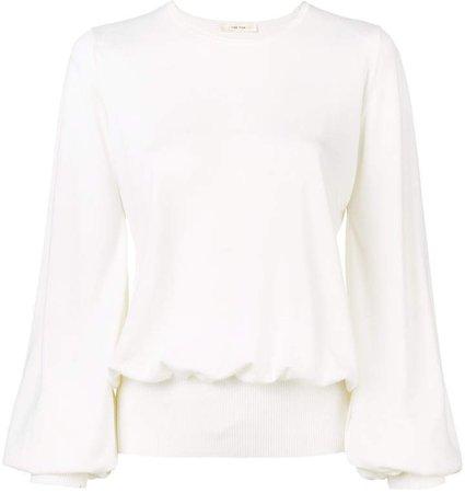 bishop sleeve sweatshirt