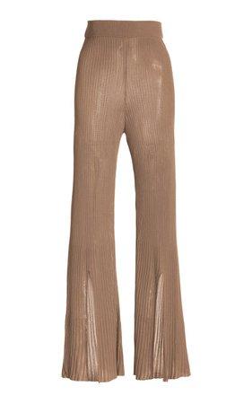 Dalia Flared Knit Pants By Cult Gaia | Moda Operandi