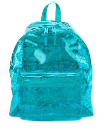 Eastpak Transparent Paint Splatter Print Backpack - Farfetch