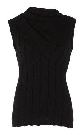 Ribbed-Knit Cotton Tank By Monse | Moda Operandi
