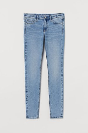 Super Skinny Low Jeans - Blue