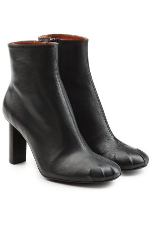 Leather Ankle Boots Gr. IT 36