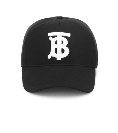 Tb Cotton Baseball Cap | Burberry - mytheresa.com
