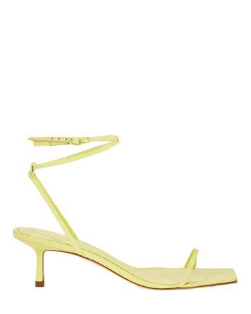 Studio Amelia Ankle Bind Leather Wrap Sandals | INTERMIX®