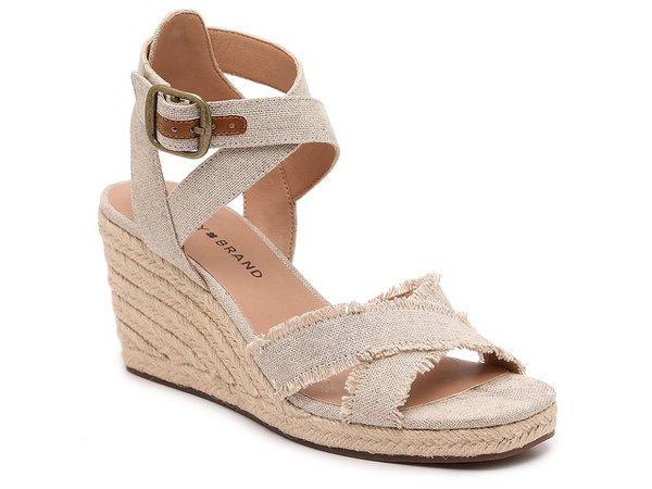 Lucky Brand Myghan Espadrille Wedge Sandal | DSW