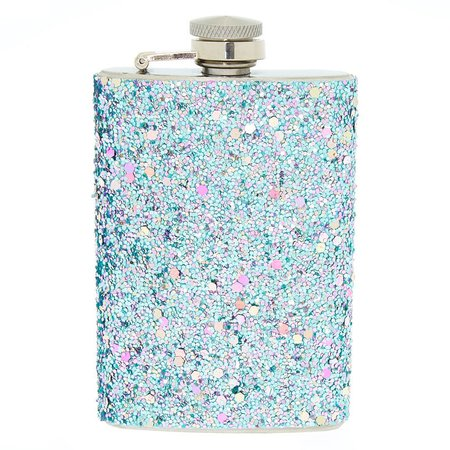 Glitter Flask - Blue | Icing US
