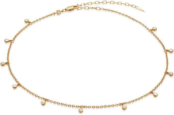 Intersteller Drop Choker Necklace