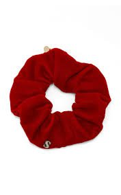 scrunchie red