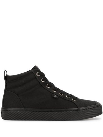 Cariuma Oca Canvas High-Top Sneakers 100303B10 Black | Farfetch