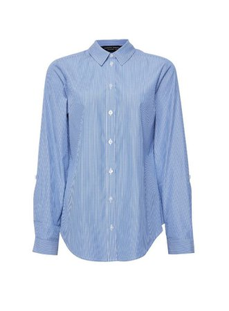 Blue Striped Shirt | Dorothy Perkins