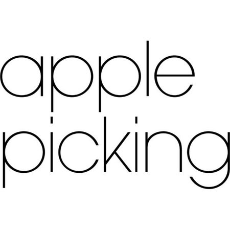 apple picking text
