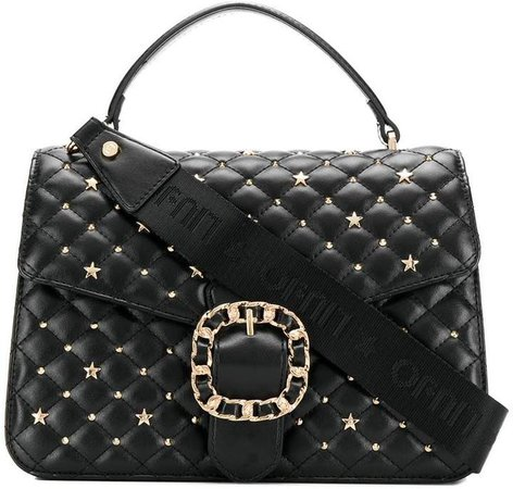 quilted star tote bag