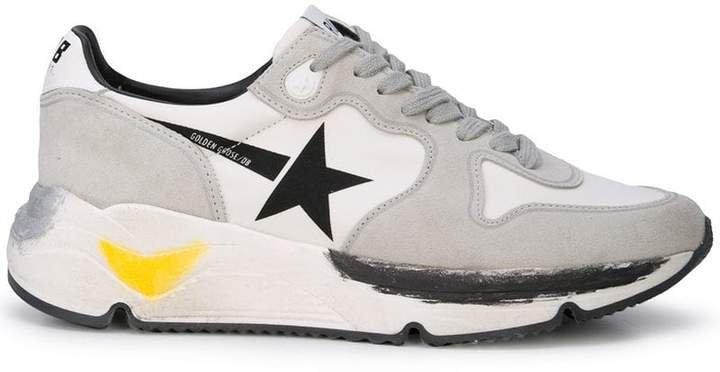 printed runner sneakers