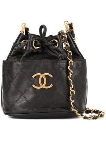 Chanel Vintage Bolsa De Hombro Cosmos Line Con Ajuste De Cordón - Farfetch