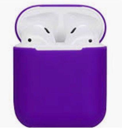 purple AirPods