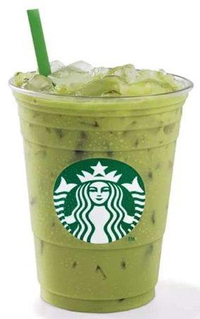 Starbucks matcha 🍵 tea latte coffee milk 🥛