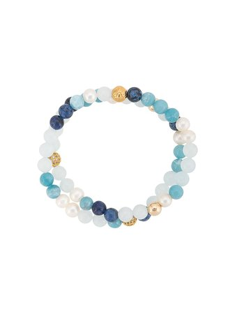 Nialaya Jewelry Beaded Wrap Bracelet - Farfetch