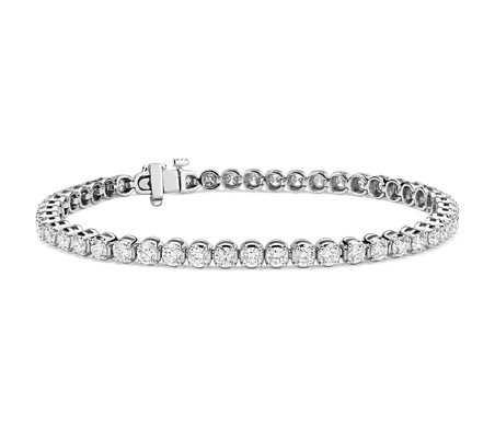 Diamond Tennis Bracelet in Platinum