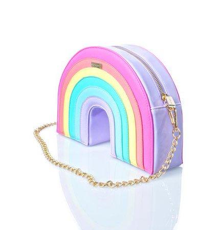 Skinnydip Rainbow Cross Body Bag | Dolls Kill