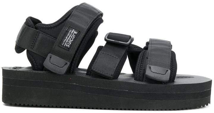 touch-strap platform sandals
