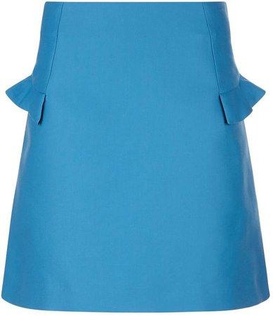 Ruffled A-Line Skirt