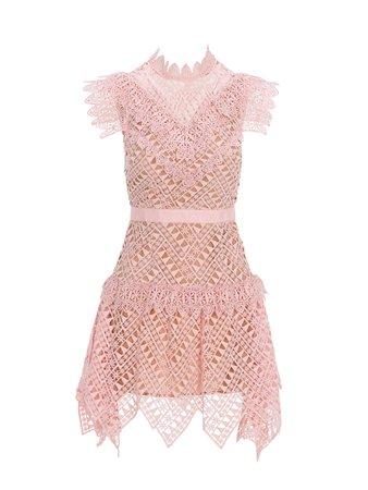 Self Portrait Mini Dress Lace