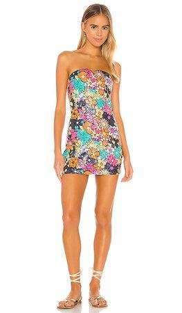 Lovers + Friends Euclid Mini Dress in Multi   REVOLVE