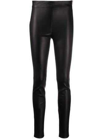 Helmut Lang high-rise Biker Leggings - Farfetch