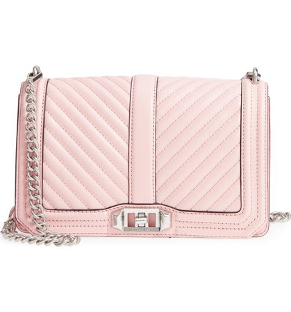 Rebecca Minkoff 'Chevron Quilted Love' Crossbody Bag | Nordstrom