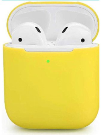 yellow AirPods 💛