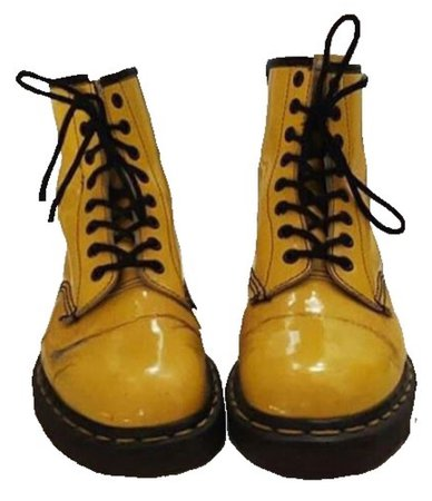Yellow Dr.Martins