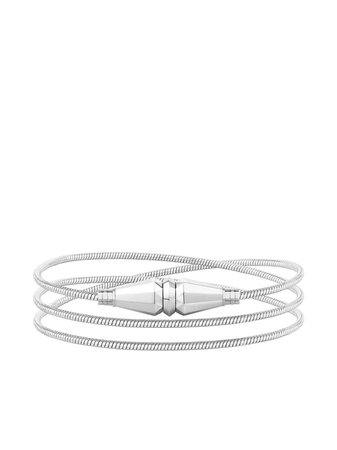 18kt White Gold Jack De Boucheron Triple Wrap Bracelet | Farfetch.com
