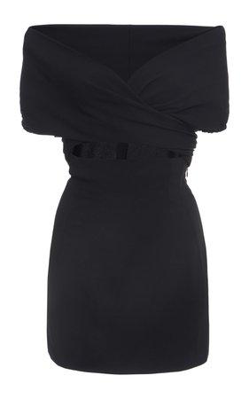 Tie-Accent Jersey Dress by Dolce & Gabbana | Moda Operandi