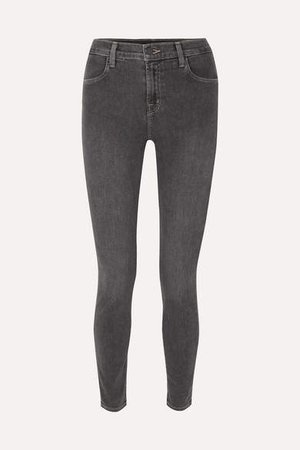 Maria High-rise Skinny Jeans - Gray