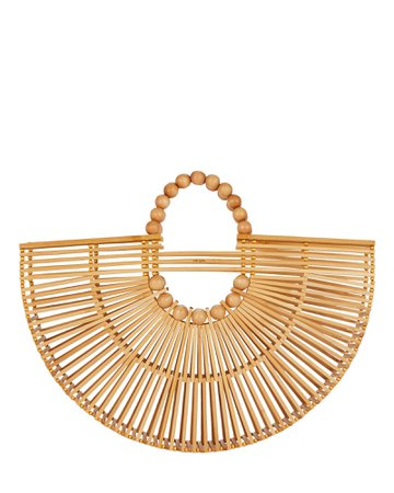 Cult Gaia Fan Ark Bamboo Tote Bag | INTERMIX®