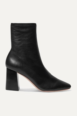 Black Elise leather ankle boots   Loeffler Randall   NET-A-PORTER