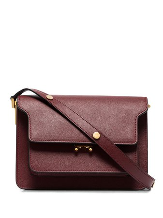 Marni Trunk Medium Leather Shoulder Bag - Farfetch