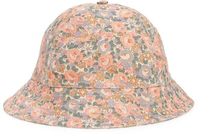 x Liberty London Floral Print Bucket Hat