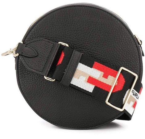 Sleek plain crossbody bag
