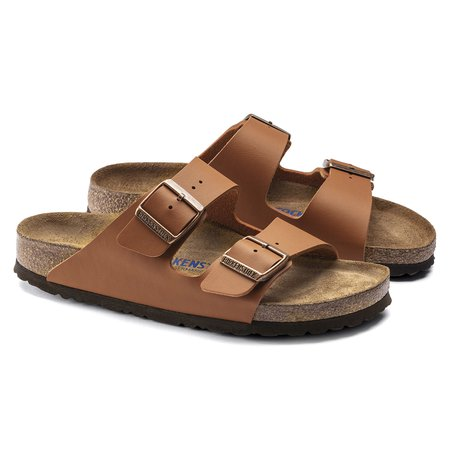 Arizona Birko-Flor Ginger Brown | shop online at BIRKENSTOCK