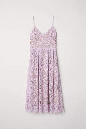 Lace Dress - Purple